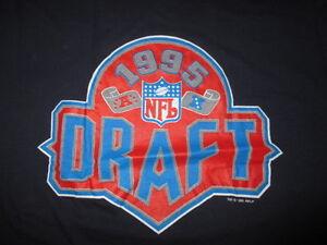 HOFer CURTIS MARTIN 1995 Draft NEW ENGLAND PATRIOTS (XL) T-Shirt NEW YORK JETS