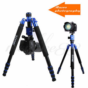 Z888 Universal Carbon Fiber Professional Camera Travel Tripod Monopod&BallHead