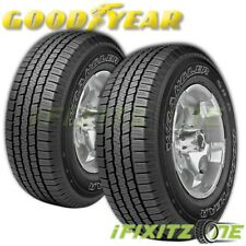 2 Goodyear Wrangler SR-A P275/60R20 114S All Season 50K Mile Warranty Tires A/S