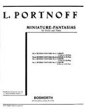 Russian Fantasia No. 2 in D Minor for Violin and Piano New 014025891
