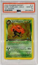 PSA 10 Gem Mint Dark Vileplume Holo First Edition #13 2000 Team Rocket Pokemon