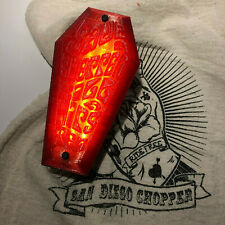 "coffin tail light ""Save a Chopper Kill a Hipster"" ヴィンテージテールライト棺"