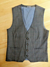 NEXT boys check pattern smart suit waistcoat AGE 14 YEARS EXCELLENT