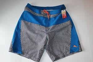 Tommy Bahama Swim Suit Board Trunks Surfhound Black 35-37 waist Large L