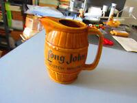 Jarra - Jarra Porcelana Whisky Largo John Años 70/80 Vintage