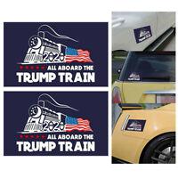 5x Donald Trump For President 2020 Bumper Sticker All Aboard The Trump Train
