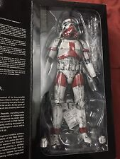 Sideshow Collectibles Star Wars Imperial Incinerator Stormtrooper Custom