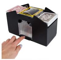Shuffle Machine Board Game Poker Playing Card Shuffler Support 4 Deck