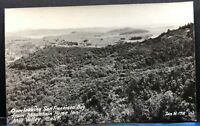 California RPPC San Francisco Bay Mill Valley Zan M 178 Vintage Postcard