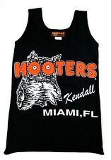 MIAMI, FL KENDALL HOOTERS GIRLS X-SMALL XS LYCRA BLACK UNIFORM TANK TOP
