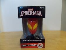 Marvel Die Cast Helmet Spider-Man Iron Spider
