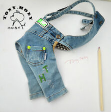 TONY HOBY Fashion Embroidery Belt Pants Pet Belt Pants Dog Cat Jumpsuits Apparel