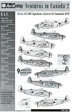 Aviaeology Decals 1/48 LOCKHEED PV-1 VENTURA IN CANADA Part 2