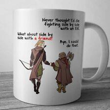 The Lord Of The Rings Legolas Gimli Coffee Mug Tee Cup