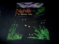 Nightlife In Schroon Lake Vintage Shirt ( Used Size L ) Nice Condition!!!