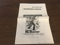 PRESSBOOK MOVIE POSTER ADDS MATS CALL HIM MR SHATTER PETER CUSHING