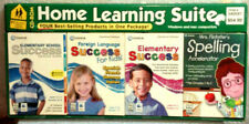 Elementary Home School Learning Cd-Rom Reading Math Science Foreign Language Nib