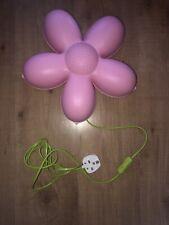 IKEA Smila Blomma Pink Flower Wall Lamp For Bedroom