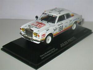 Jules Proto - Dakar 1981 - Thierry de Montcorgé - Norev