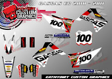GASGAS EC 2010-2011 CUSTOM GRAPHICS KIT MX DECALS MOTOCROSS STICKERS