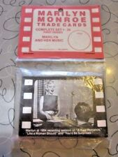 1963 Marilyn Monroe Trade Cards Unopened Pack First Series RED