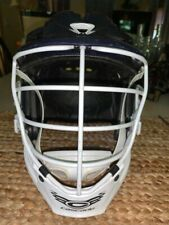 Cascade R Lacrosse Helmet Navy With White Cage Pre-owned