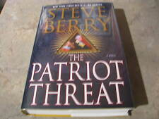 PATRIOT THREAT STEVE BERRY SIGNED TITLE PAGE BRAND NEW UNREAD TRUE 1/1 PRINTING