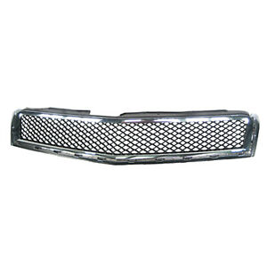 GM1200615 NEW Grille Fits 2009-2012 Chevrolet Traverse