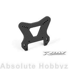 Team Xray XB9 GRAPHITE FRONT SHOCK TOWER - CNC MACHINED 4 MM (XRA352094)