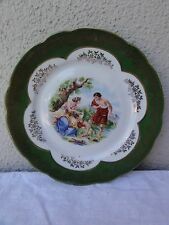 Bavaria Portrait Porcelain Plate - Made in Germany
