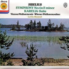 Sibelius Symphony no. 1 Karelia Suite Maazel Decca Jubilee JB 42 NEAR MINT