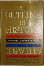 The Outline Of History Whole Story Of Man Volume 2 by HG Wells Reference Book