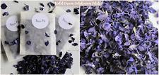 Biodegradable Petal Flower Confetti Violet Dream Delphinium Petals 100 Bags