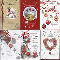 Large MUM / MOTHER Christmas Cards