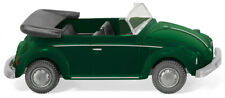 Volkswagen Beetle Convertible Yucca Green WIKING 1/87 Plastic Car HO Scale