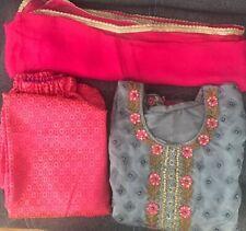 DesignerFencey (new Arrive) 3piece shadi,eid Stitched Kameez Trouser&dupatta