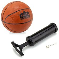 "Mini Basketball 5"" Textured Grip with Pump, Needle - Indoor Office Dorm Bar Game"