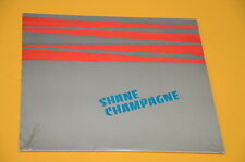 "SHANE CHAMPAGNE LP 10"" ORIG USA 1980 SIGILLATO SEALED MONSTER RARE PURE AND EASY"
