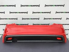 Audi a1 S LINE 2010-2014 Rear Anti-Chocs Dans Red Complete genuine [a409]