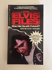 The Elvis Files Book Brewer Giorgio Was Elvis Presley's Death Faked? 48ct (NEW)