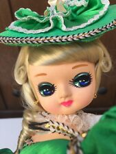 Large Bradley BIG EYE Doll Korea 1970s 16 Inch!