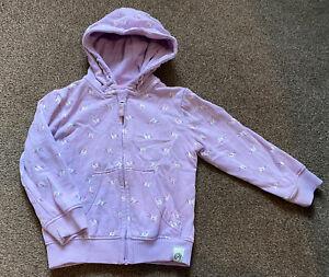 Next Girls Unicorn Zip Up Hoodie/jacket Age 3-4 Years