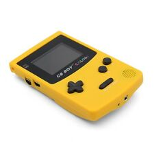 Kong Feng GB Boy Color Colour Handheld Game Consoles   Backlit 66 Yellow