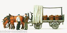 Preiser 30449 H0, Rollwagen mit Gemüseladung, Fertigmodell, Neu