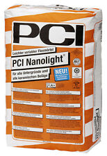 PCI nanolight x 2 15 kg plus léger variable MORTIER Flex Colle à carrelage pour
