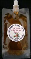 ROSEHIP OIL, 100 ML VIRGIN ORGANIC OIL, COLD PRESSED, FREE POSTAGE IN AUSTRALIA