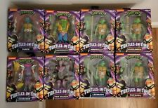 NECA Teenage Mutant Ninja Turtles Turtles in Time Slash Shredder Leatherhead