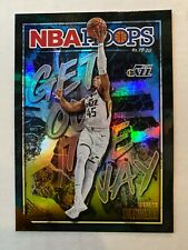 2019-20 Panini NBA Hoops DONOVAN MITCHELL Get Out The Way HOLO #6 Utah Jazz