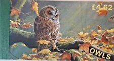 ISLE OF MAN 1997 OWLS ANIMAL BIRDS PRESTIGE BOOKLETS MNH - ISOLA DI MAN NEW