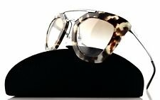 NEW Authentic PRADA CINEMA Collection Spotted Opal Sunglasses SPR 09Q UAO-1L0